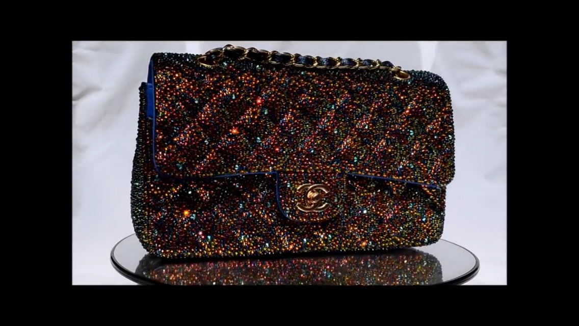 f3f5d7f7a75f ... crystal, and want to try on my chanel bag, but I don't know how to look  up the color, and do you recommend to use more than one color ? Thank you