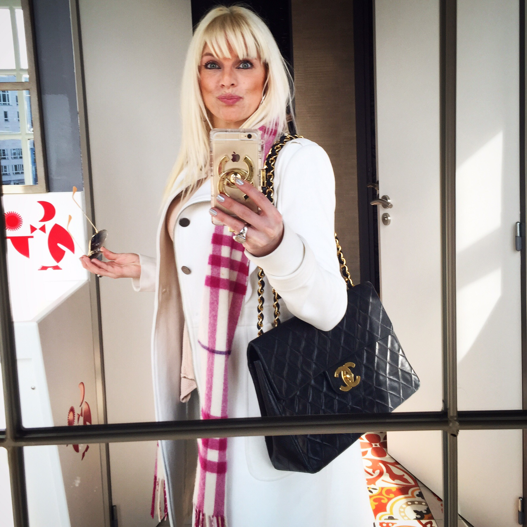 08bf04f1e7c1 ... my very first Chanel handbag. Im in love with it :) ( I had to take a  picture with my Chanel at 31 rue Cambon lol I know its cheesy :P )